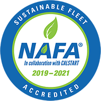 Sustainable Fleet Accredited - N.A.F.A. in collaboration with CALSTART, 2019-2021