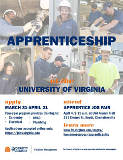 Apprenticeship Program poster