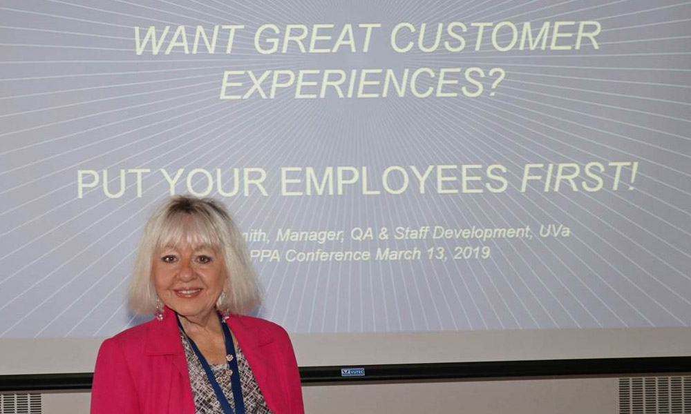 Sandra Smith presents at the March 2019 VAPPA conference