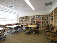 New Cabell Hall library room