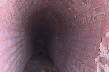 Arched brick conduit, East Terrace