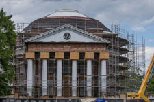 Rotunda under renovation