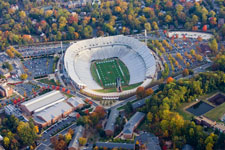 Aerial of Scott Stadium