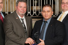 Energy and Utilities team receives award for hot well project
