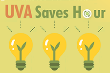 UVA Saves Hour graphic