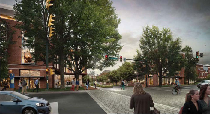 Green Street architect rendering