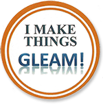 I make things GLEAM button