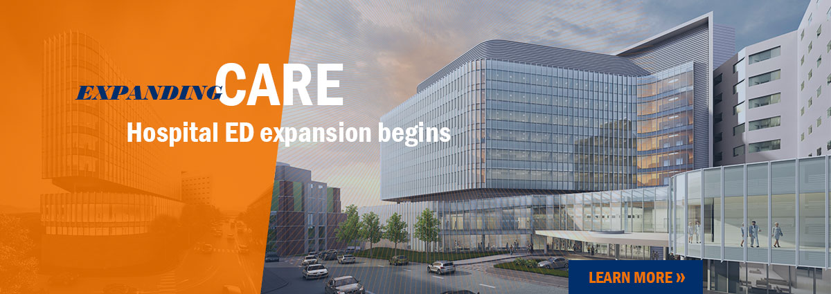 Hospital ED expansion renderings