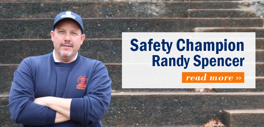 Safety Champion Randy Spencer